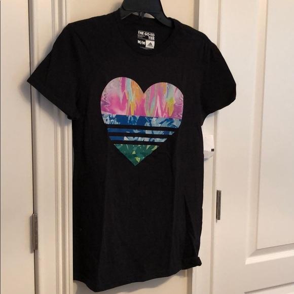 Shirt T Nwt Black Heart Adidas PkXiuZ